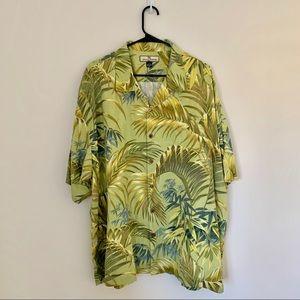 Tommy Bahama Hawaiian Silk 100% Shirt